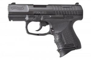 Pistolet palny Walther P99 AS Compact kal. 9 mm, czarny